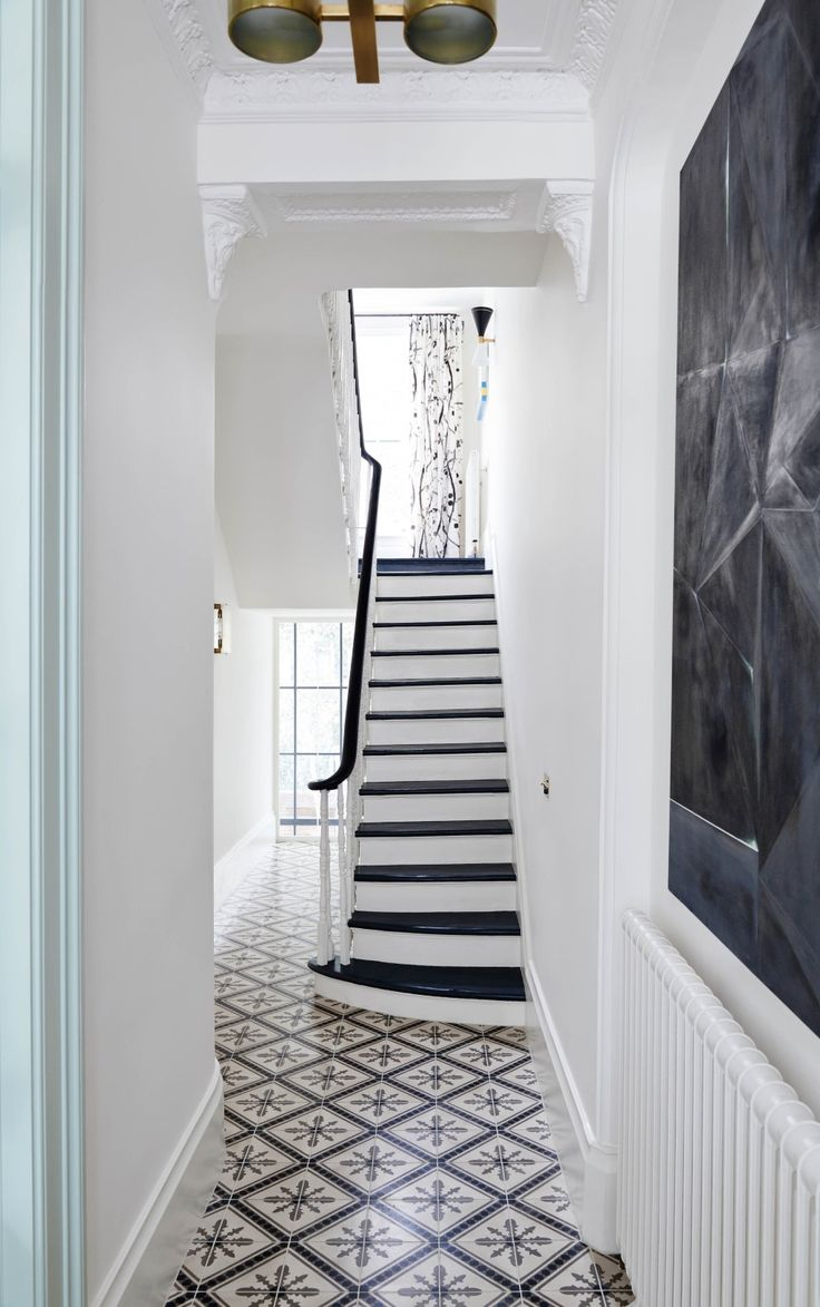 Ideas for decorating a hallway Black and