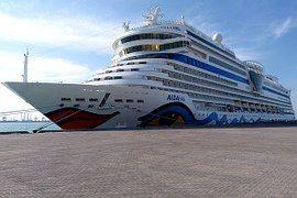 Aida, Buque, Crucero De Conducción, Mar