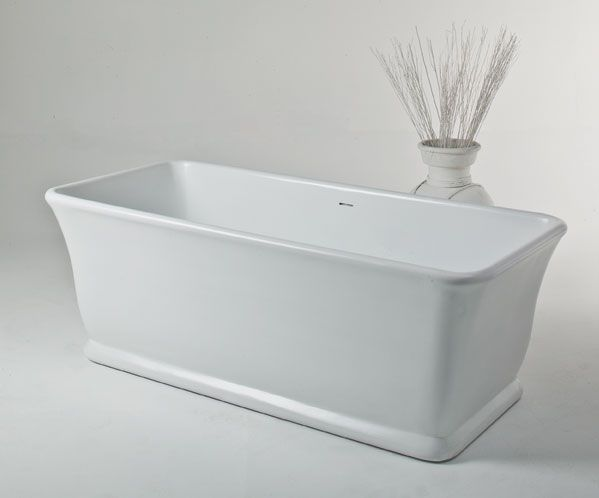 The magnificent Magnus Bath inspires images of a glorious bygone era. Imperial yet supremely practical, this bath is fit for an emperor. www.sinkandtap.com.au