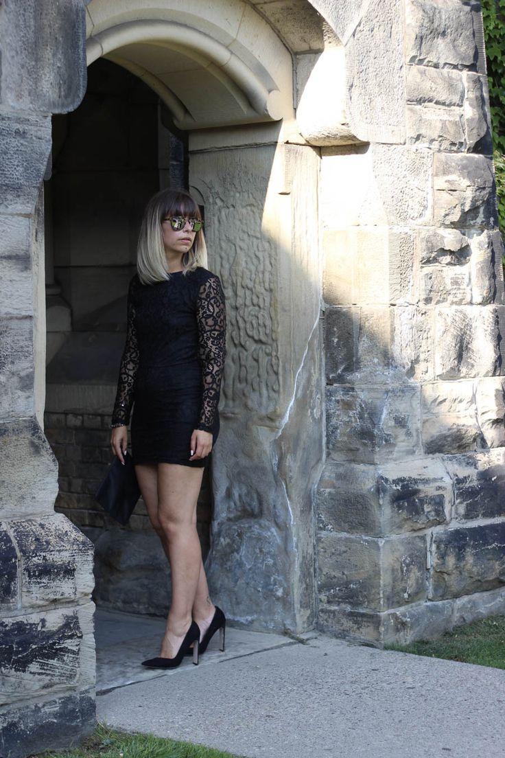 robe noire idées