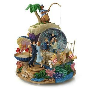 Disney Snowglobes Collectors Guide: Bedknobs and Broomsticks Snowglobe