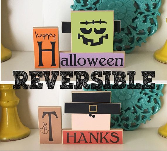 Hey, I found this really awesome Etsy listing at https://www.etsy.com/listing/465416829/reversible-halloween-thanksgiving-blocks