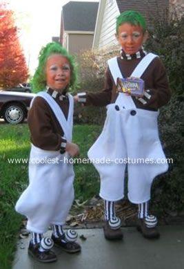 Oompa Loompa Halloween Costume