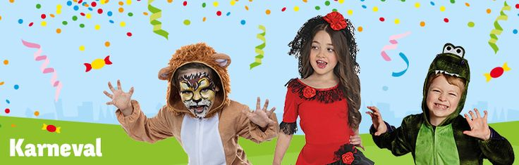 Karneval is a celebration for kids and grown-ups! Find costumes, make-up and more for you and your kids at Toys'R'Us