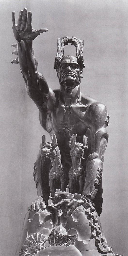 """""""Remussolini"""" Stanisław Szukalski 1932"""