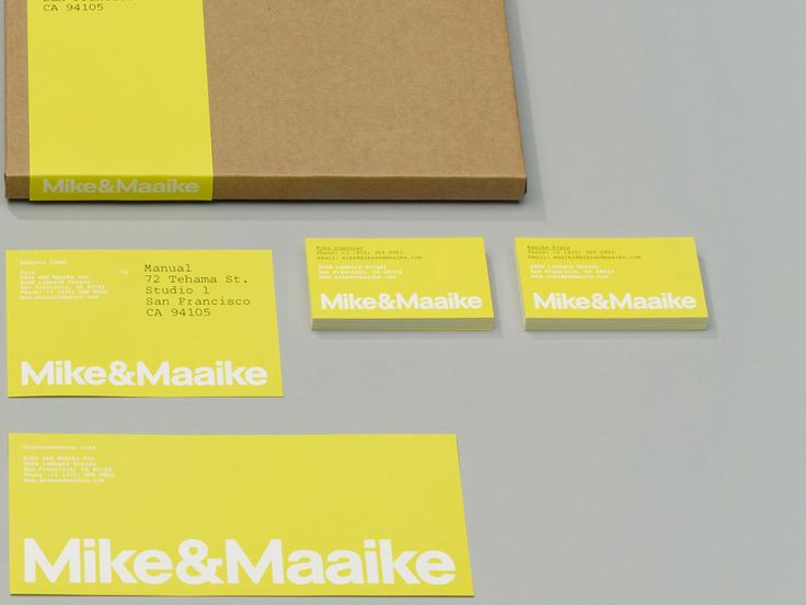 Mike & Maaike business cards