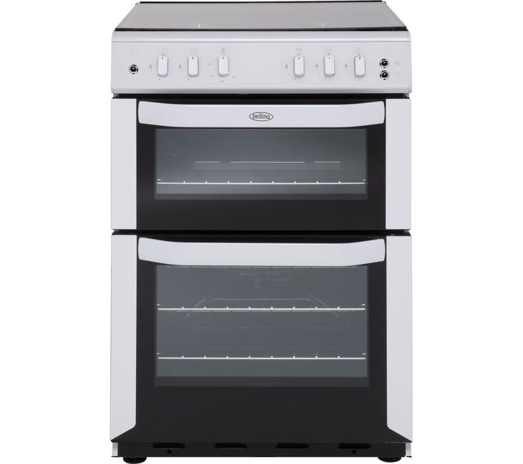BELLING FSG55TCF 55 cm Gas Cooker - White, White: Top features: - Cook food evenly each time thanks to fan oven… #Electrical #HomeAppliances