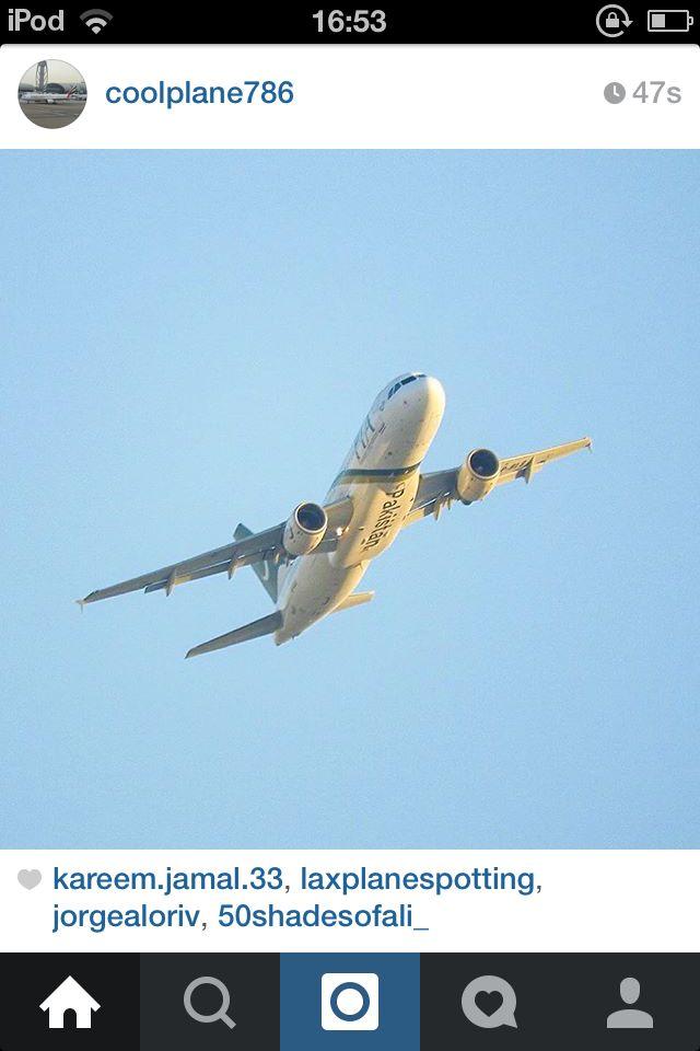 PIA Pakistan International A320 taking off
