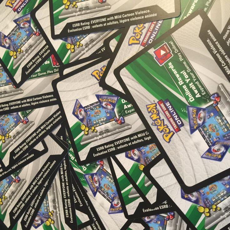Pokemon TCG Online x100 Sun and Moon Guardians Rising CODE CARDS PTCGO Sent Fast
