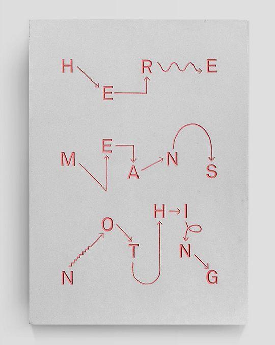 Abstracción en tipografía en lugar de la máquina de Rube Goldberg que andabamos viendo si poner en el Home. Algo así me la imagino sin ser tan literal solo que de la intensión de causa y efecto
