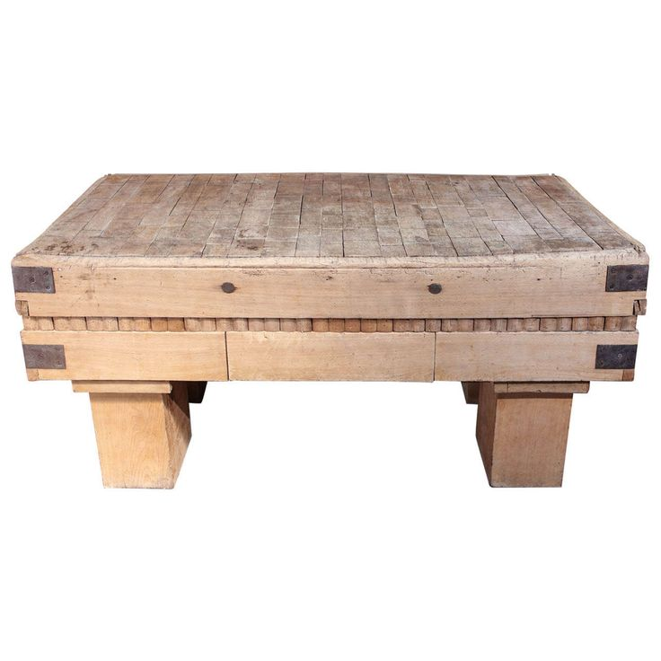 A Wood Chopping Block | From a unique collection of antique and modern center tables at http://www.1stdibs.com/furniture/tables/center-tables/