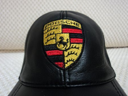 Buy Online Adjustable Black Very Soft Lambskin Porsche Leather Baseball Hat Cap. Free Shipping + Returnable. [ BUY 1 GET 1 FREE ]  All Brands Available : Porsche Ferrari Harley Davidson Audi Mercedes Opel Jaguar Cadillac Yamaha Chevrolet Suzuki Honda Bmw ...