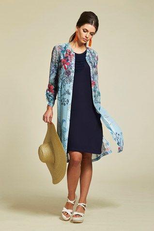 WILDFLOWER SHIRT DRESS