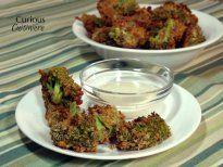 Crispy Broccoli Cheddar Bites #SundaySupper • Curious Cuisiniere