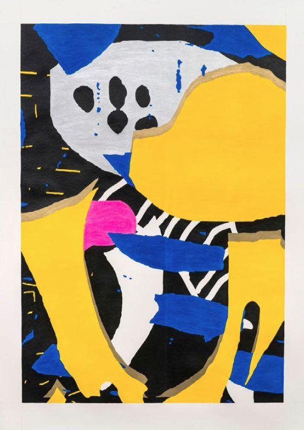 Cameron Platter, 'Down Dog'