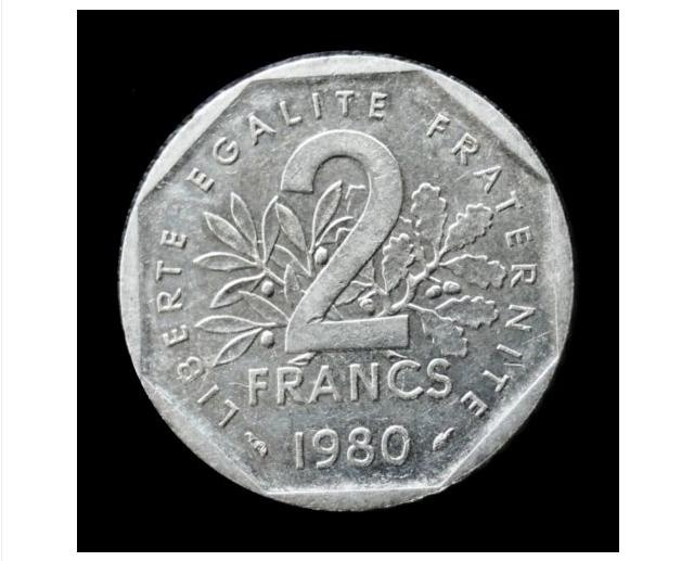 2 francs 1980