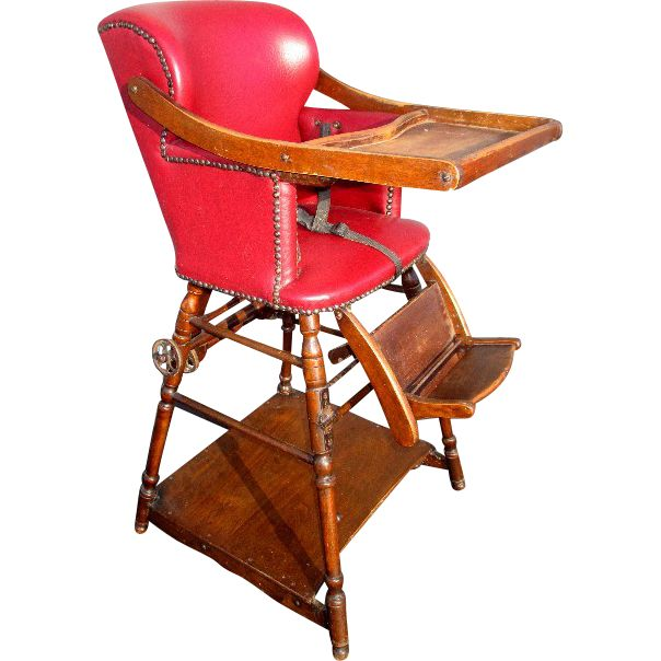 Best 25+ Antique high chairs ideas on Pinterest | Chair ...