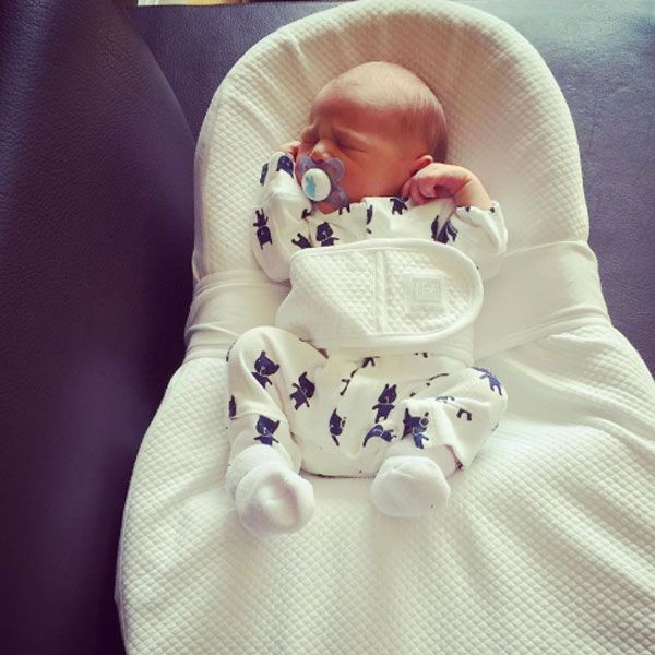 Mark Cavendish and his wife welcomes Frey David into the world on monday afternoon [Peta Cavendish/Instagram]