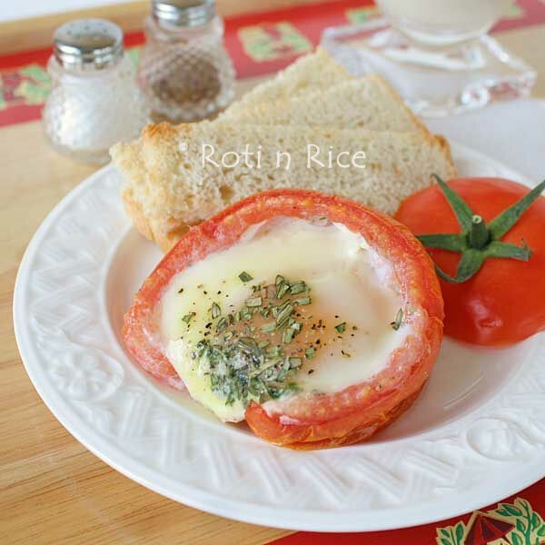 Roasted Red Pepper Parmesan Baked Eggs Recipes — Dishmaps