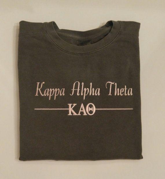 Check out this item in my Etsy shop https://www.etsy.com/listing/506907655/kappa-alpha-theta-sweatshirt-sorority