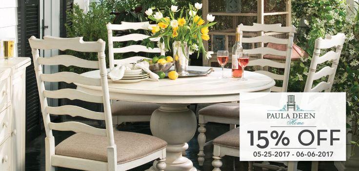 Shop the Paula Deen Furniture Memorial Day Sale at Carolina Rustica and Save 15% Today!