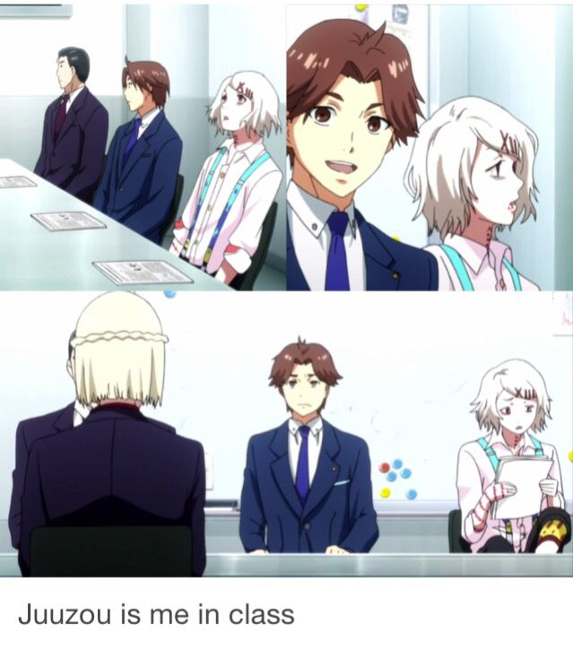 Tokyo ghoul root A. That's true<<Yes! This also reminds me how my TG Oc Bri is in school lol