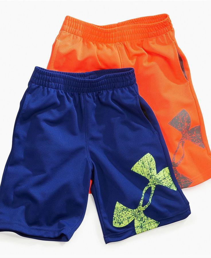 Under Armour Kids Shorts, Little Boys Power Up Shorts - Kids Boys 2-7 - Macy's