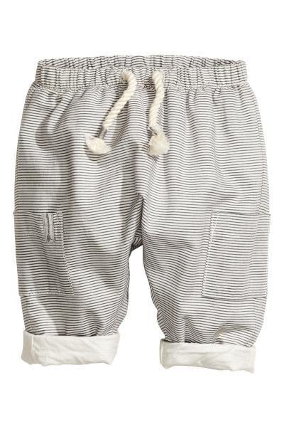 Gevoerde katoenen broek | H&M