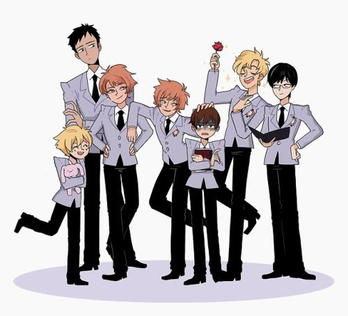 """redsketches:  """"So I was just at my first anime convention in a long while and… Apparently Ouran high school host club is becoming relevant again?!!! My childhoos shows are all coming back!!! This is amazing! I'm gonna draw as much ouran as I can while..."""