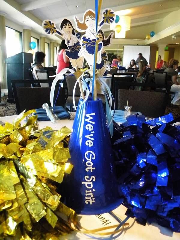 cheerleading banquet gift ideas eskayalitim rh eskayalitim com cheerleader banquet centerpieces cheerleading party centerpieces