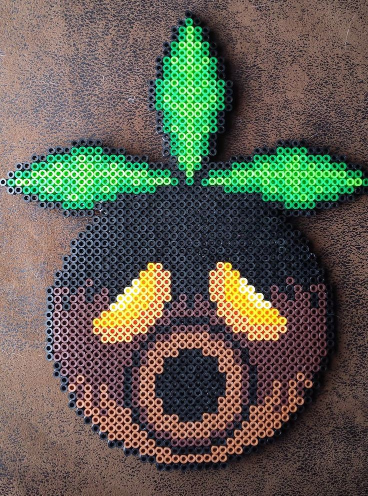 Deku Mask perler beads by Kisaoda on deviantart