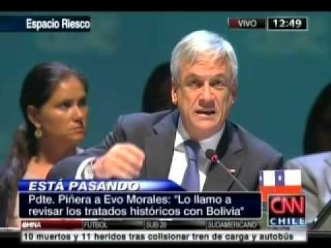 28.01.13 - #Celac: Respuesta del Presidente de la República, Sebastián Piñera, a intervención del Presidente de Bolivia, Evo Morales, en la Sesión Plenaria de la I Cumbre Celac.
