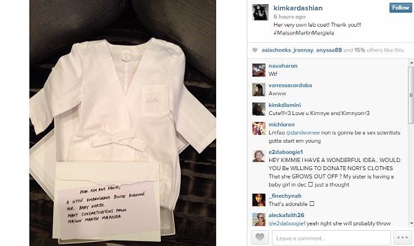North West Is Going To Poop Her Pants In Clothing More Expensive Than My Car