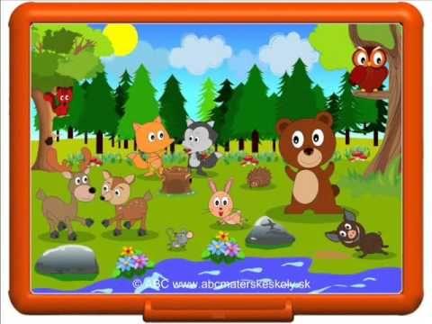 Rozprávka o lesných zvieratkách, v ktorej spoznáte niektoré lesné zvieratká a uvidíte, ako si zvieratká vyzbierali odpadky v lese a čo dostali za odmenu.