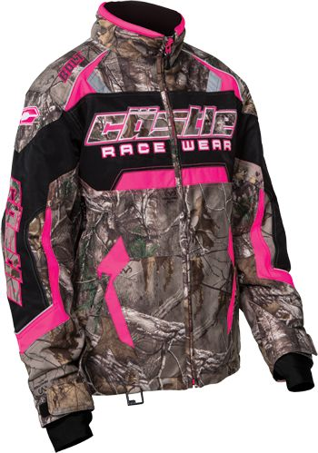 CASTLE X Women's BOLT #REALTREE® JACKET (2016) - Hot Pink.  #Camo girls - where ya at?