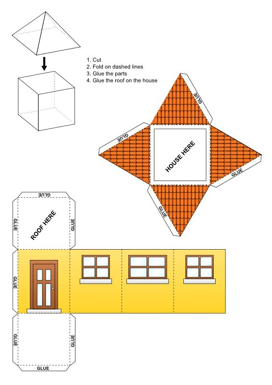 Best Paper Structures Images On   Paper Houses