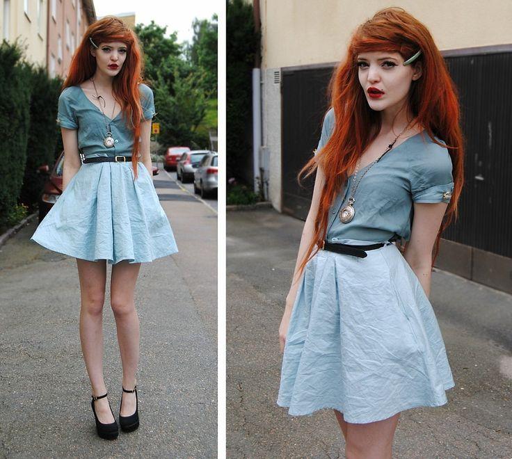 Модная одежда для рыжих :: рыжие девушки стиль одежды :: Fashion Stylist