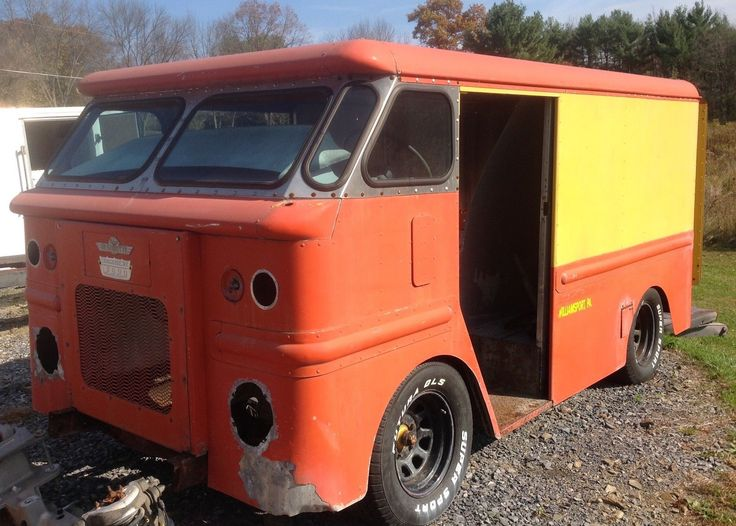 233 best images about step van on Pinterest | Milk, Chevy and Trucks