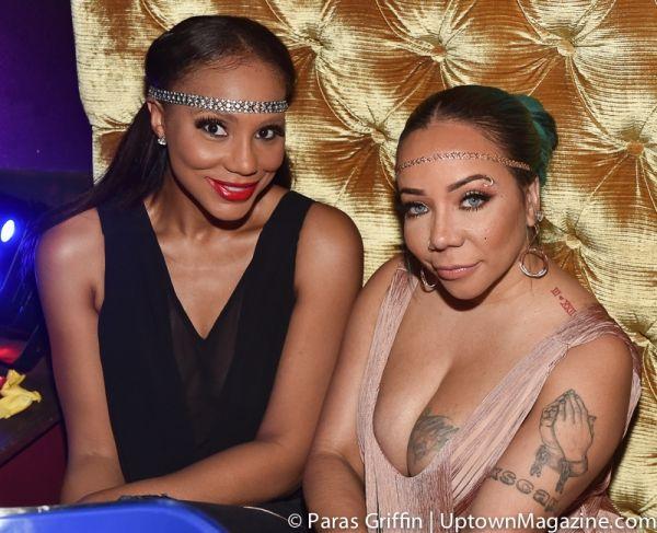 Tamar Braxton, Tameka Harris attend her birthday party soiree!