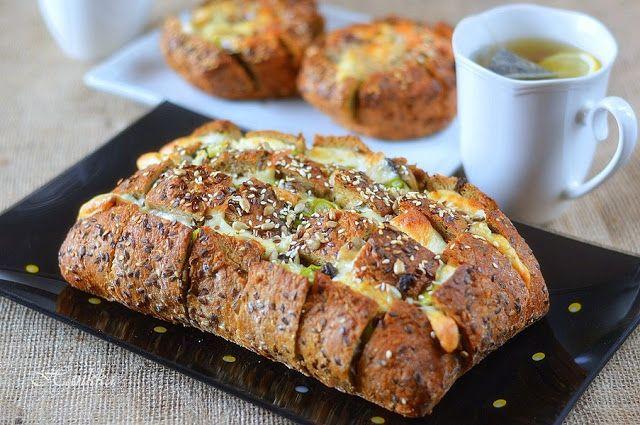 Hankka: Gombás-sajtos töltött kenyér