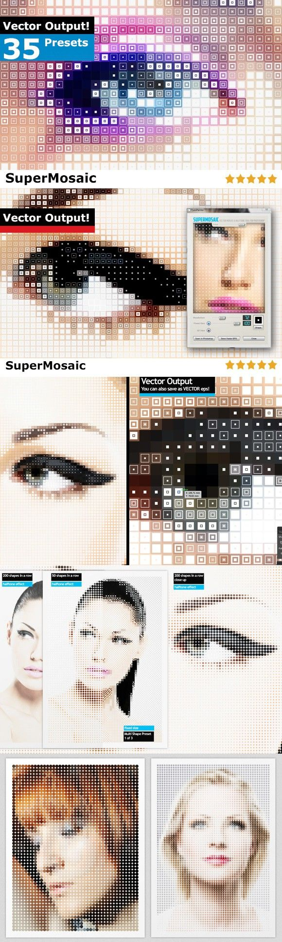 SuperMosaic. Actions. $20.00