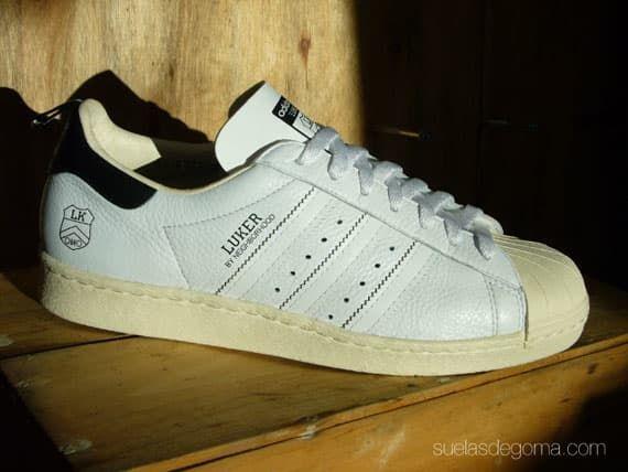 Neighborhood x Luker x Adidas Superstar 80's 2010