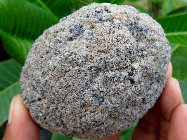 GRANITE BALL MINERAL SPECIMEN 1735 CTS MYGM 640 gemstone specimen