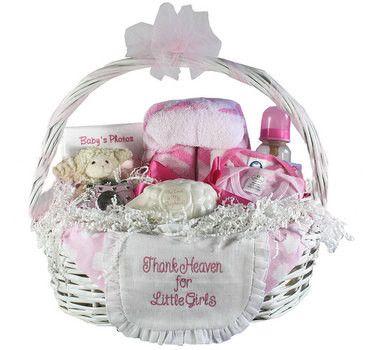 Thank Heaven Baby Gift Basket