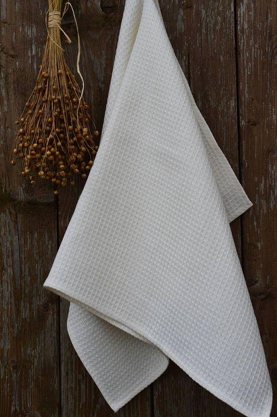 Sauna accessories waffle towels linen bath towels bathroom