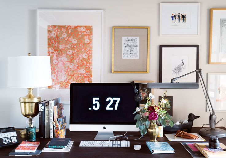 How to Beautify Your Home Office, with Rifle Paper Co. | Architectural Digest