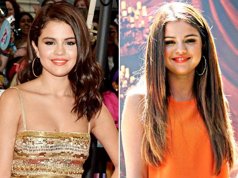 Selena Gomez Gets Super-Long Hair Extensions - Us Weekly