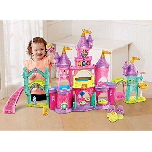 Castle Dollhouse Girls Princess Doll House Playset Kids Large Pretend Play Toy #CastleDollhouse