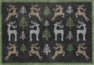 Deer Forest - Christmas Collection from Turtle Mat.  For muddy boots!