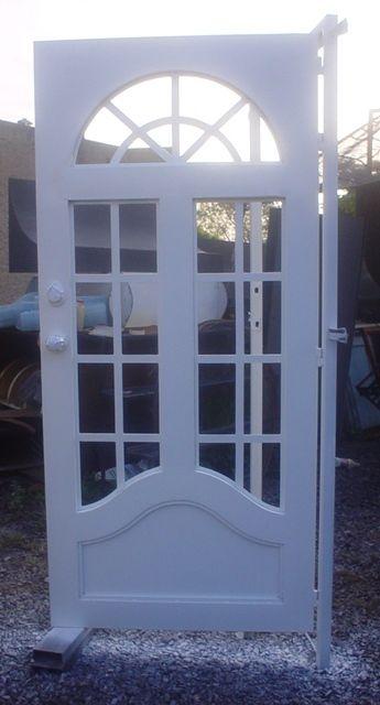 M s de 25 ideas incre bles sobre puertas francesas en for Puertas metalicas para patio